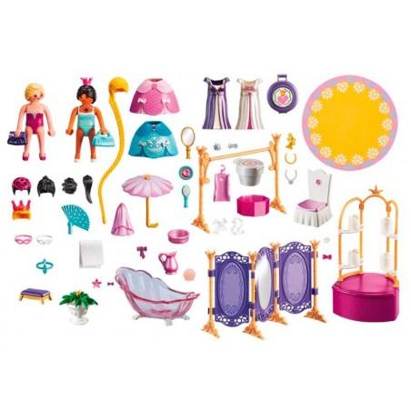 Playmobil Princess Vestidor de Princesas