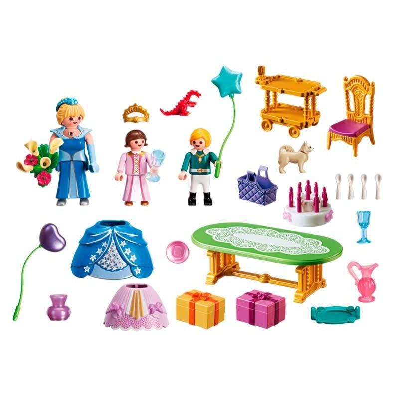 Playmobil Princess Fiesta de Cumpleaños Real