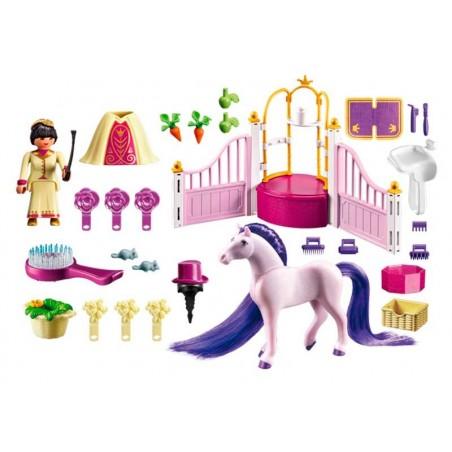 Playmobil Princess Establo del Caballo Real