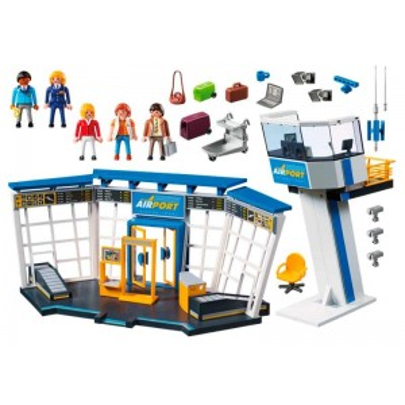 Playmobil City Action Torre de Control Aeropuerto