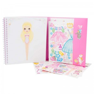 Top Model Sticker Book Princess Mimi
