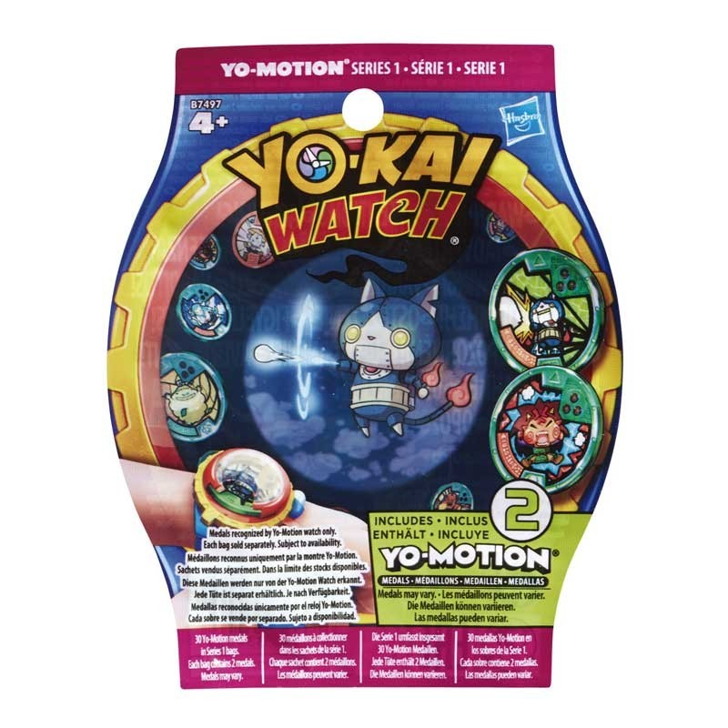 Yo-Kai Watch Sobres Sorpresa Medalla Yo-Motioin