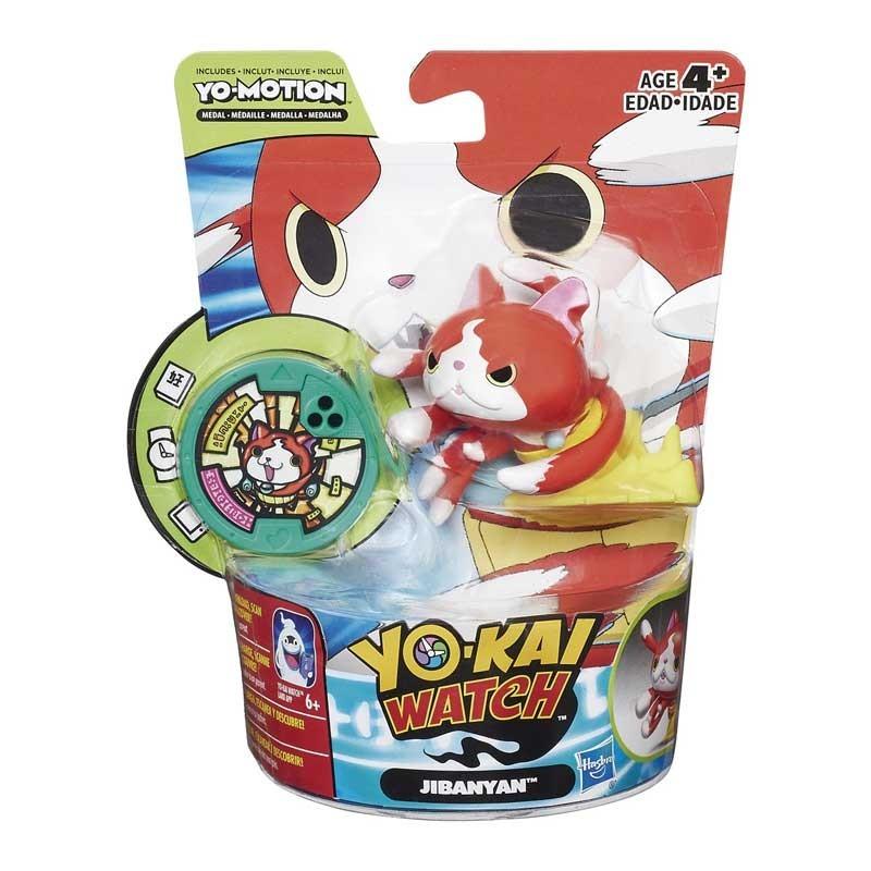 YoKai Watch Figura con Medalla YoMotion