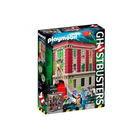 Playmobil Ghostbuster Cuartel Parque de Bomberos