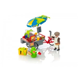 Playmobil Ghostbusters Slimer con Stand Hot Dogs