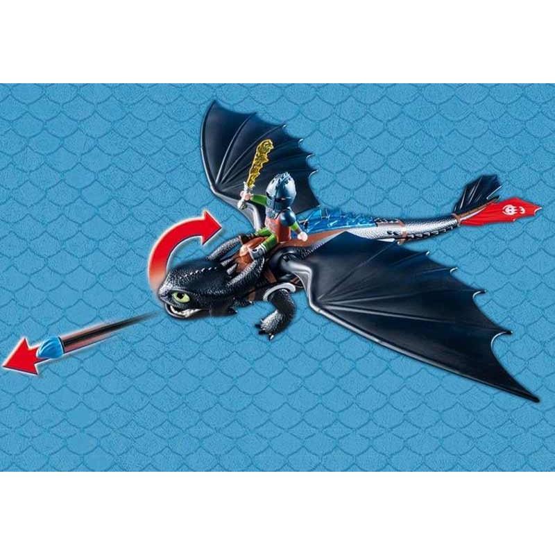 Playmobil Dragons Hipo y Desdentao