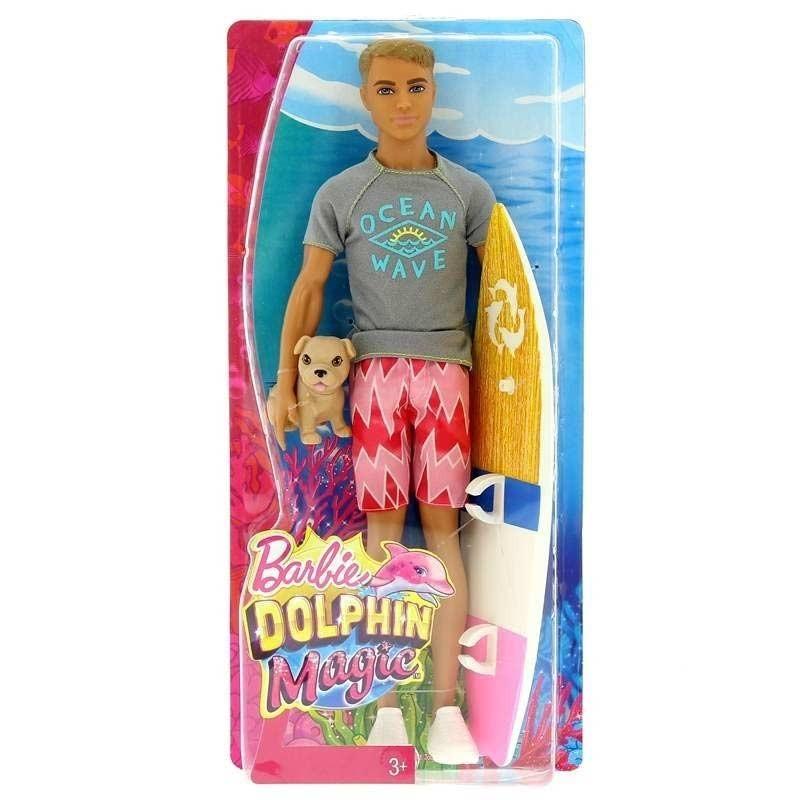 Barbie Ken con Tabla de Surf