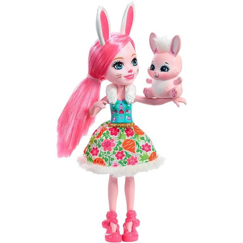 Enchantimals Muñeca Bree Bunny