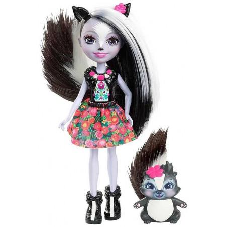 Enchantimals Muñeca Sage Skunk