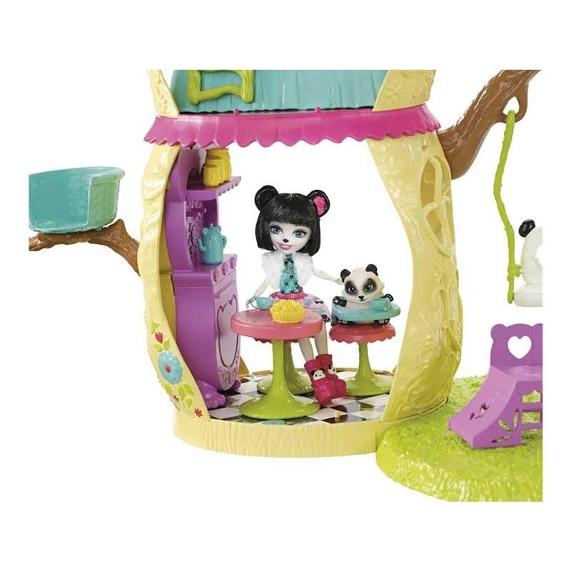 Enchantimals Casa Divertida Panda