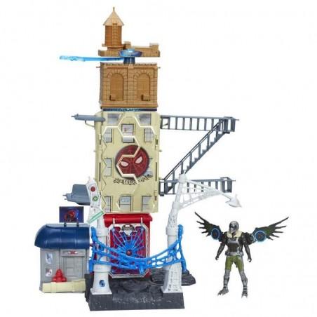 Spiderman Web City Playset 15cm