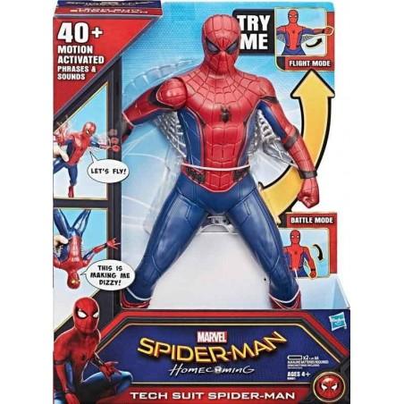 Spiderman Figura Súper Electrónica