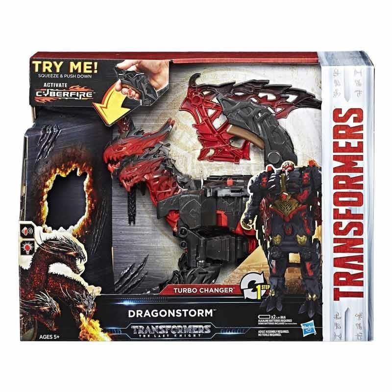Transformers 5 Dragonstorm Turbo Change