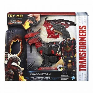 Transformers 5 Dragonstorm Turbo Change
