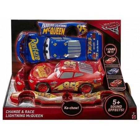 Cars 3 Rayo McQueen Taller Tuning 3 en 1