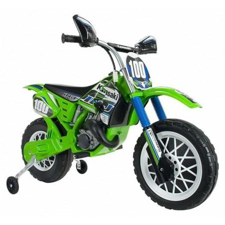 Moto Cross Kawasaki 6V