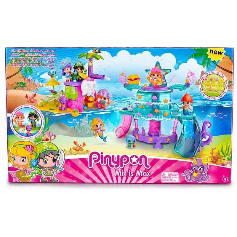 Pinypon Isla Mágica de Piratas y Sirenas