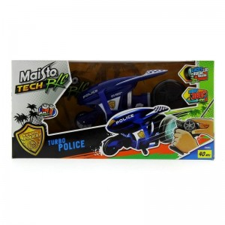 Moto Policia Radio Control