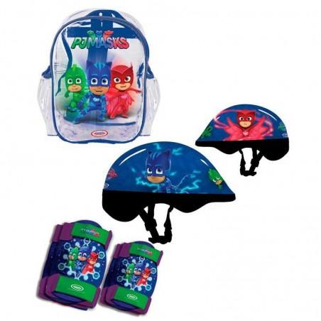 Pj Masks Casco con Protecciones