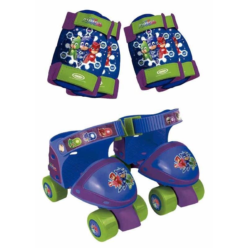 Pj Masks Patines 4 ruedas y Protecciones