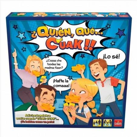 Juego Quién, Qué, Cuak!!