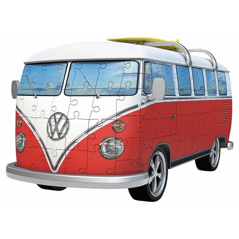 Puzzle Furgoneta Volkswagen 3D