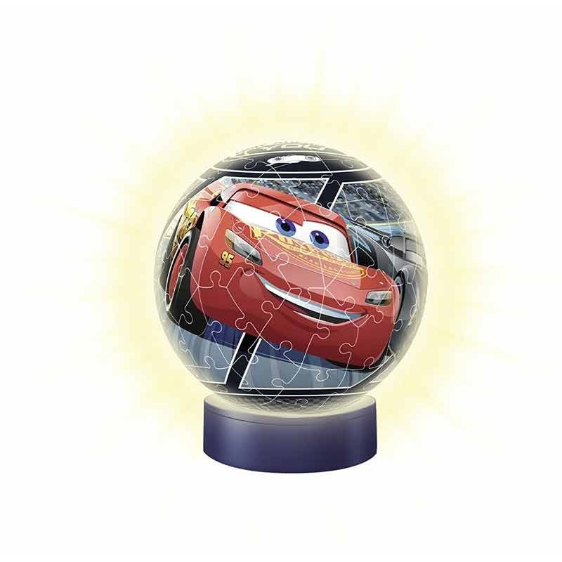 Cars 3 Puzzle Ball 3D Lámpara