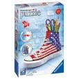 Puzzle Portalápices Sneaker Flag