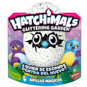 Hatchimals Dragón Brillo Mágico