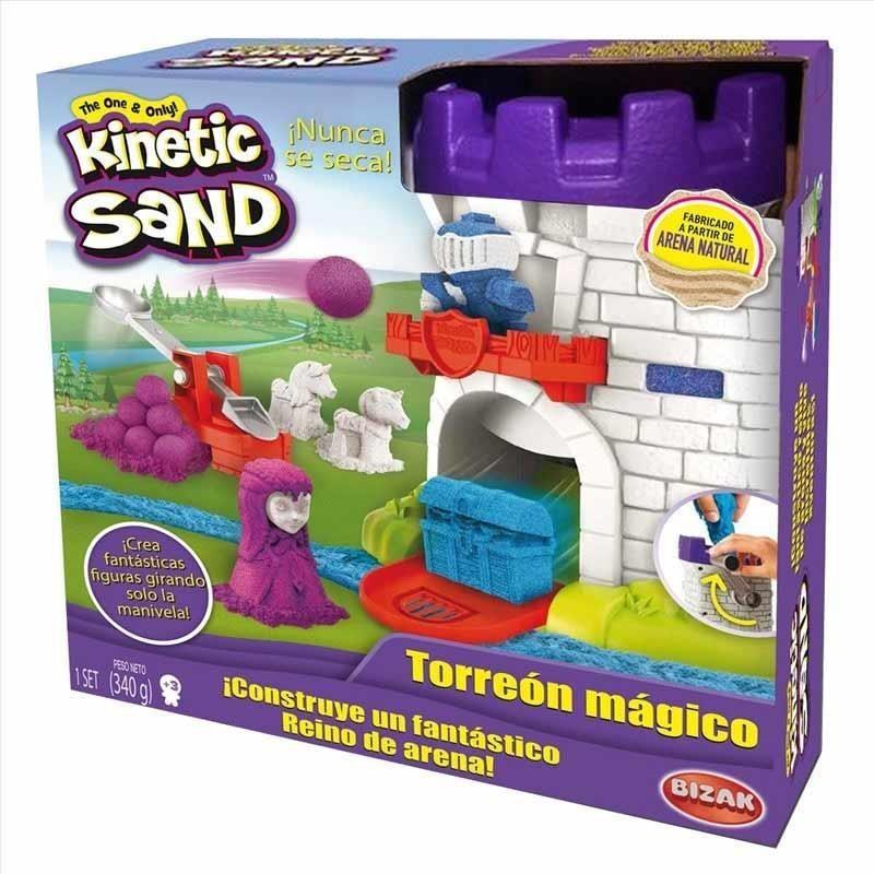 Kinetic Sand Torreón Mágico