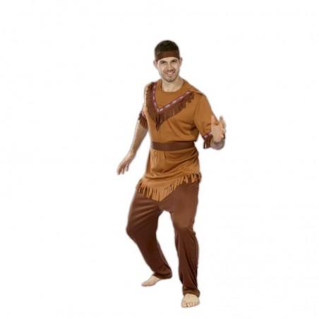 Indio adulto disfraz