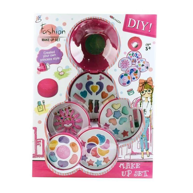 Set de Maquillaje Infantil de 5 Bandejas