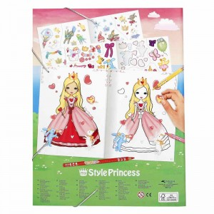 Top Model Cuaderno para Colorear Princess Mimi
