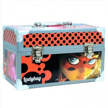 Ladybug Maletín de Manualidades Metálico