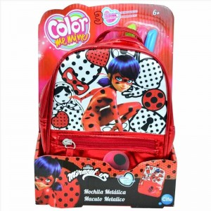 Ladybug Color Me Mine Bolso Metalico