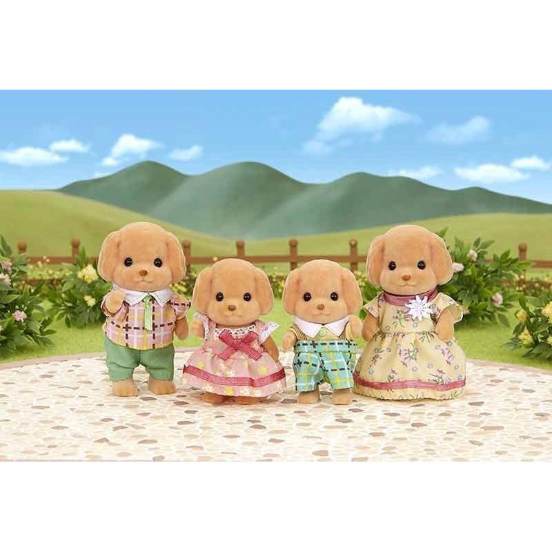Sylvanian Families Familia Perros Caniche