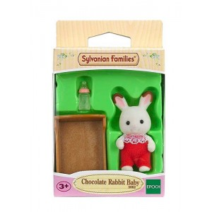 Sylvanian Chocolate Bebé Conejo Chocolate