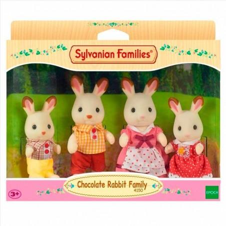 Sylvanian Families Familia de Conejos Chocolate