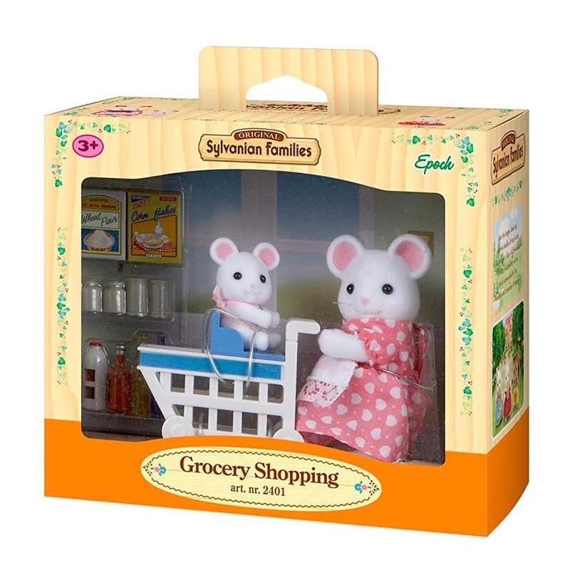 Sylvanian Families De Compras en el Supermercado
