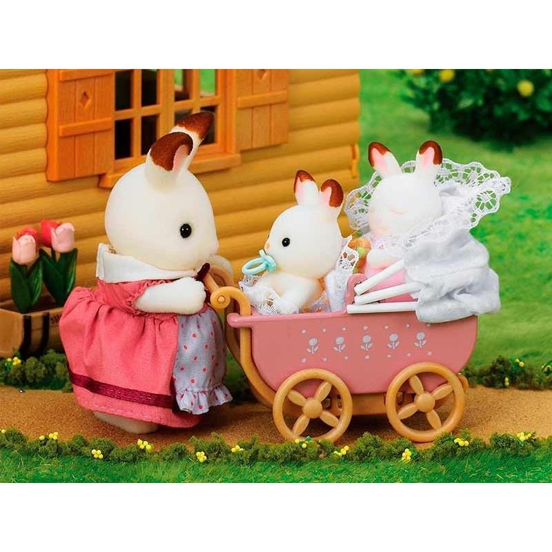 Sylvanian Families Set Gemelos Conejo Chocolate