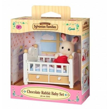 Sylvanian Families Conejo Chocolate Set Bebé