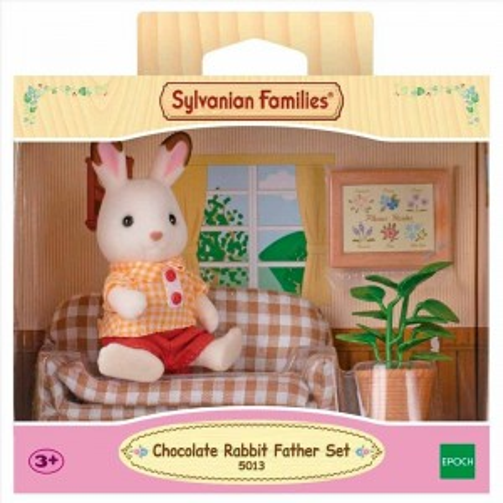 Sylvanian Families Padre Conejo Chocolate