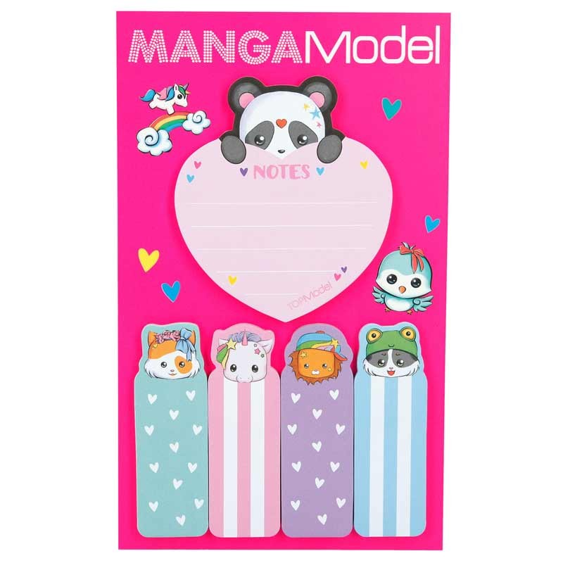 Top Model Stickers Notes Mangamodel