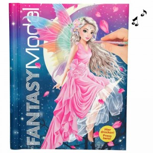 Top Model Libro de Colorear Fantasy Model