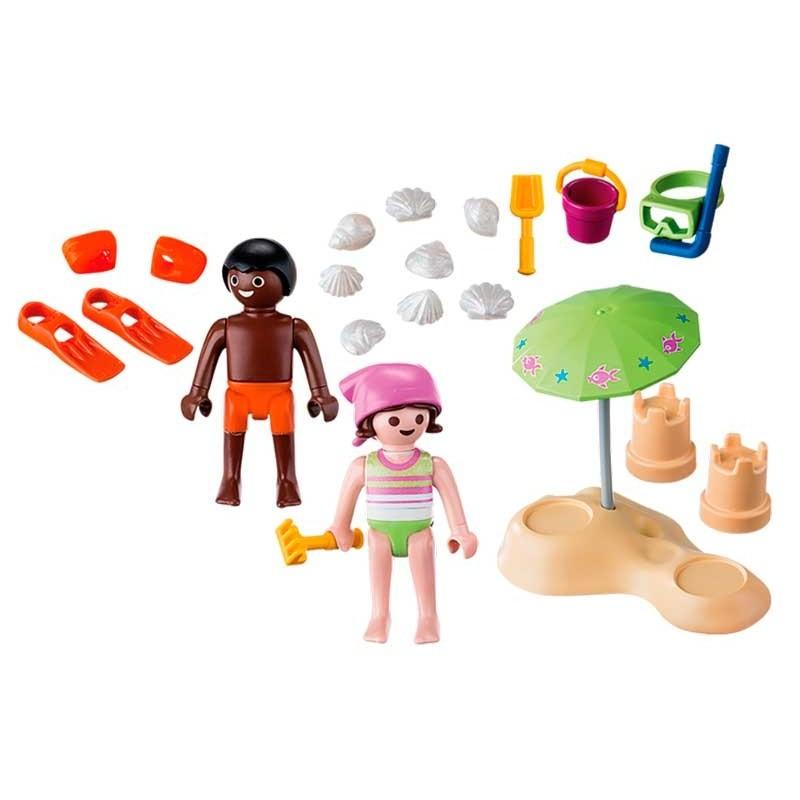 Playmobil Niños en la Playa