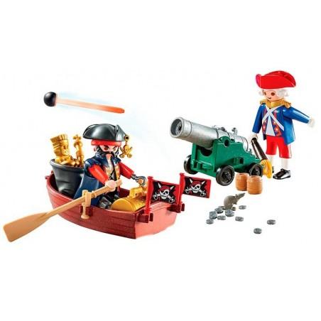 Playmobil Pirates Maletín Grande Pirata y Soldado