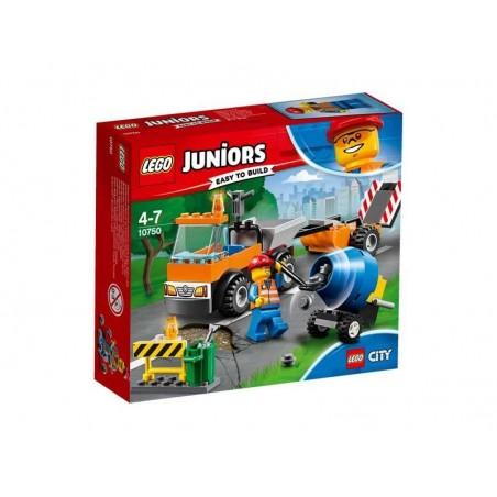 LEGO Juniors Camión de Obras Carretera
