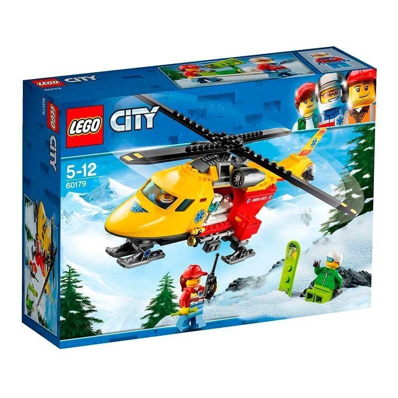 Lego City Helicóptero Ambulancia