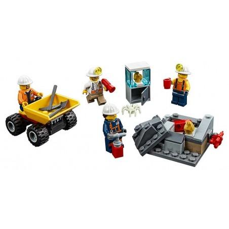 LEGO City Equipo Mina