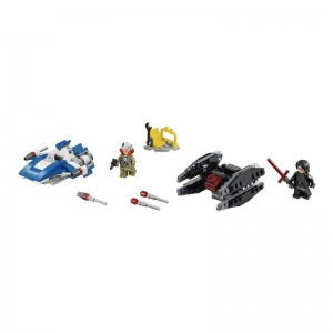 LEGO Star Wars Microfighters Ala-A Silenciador TIE